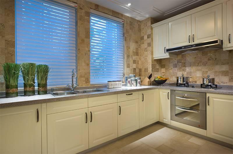 美式风格样板房厨房装修效果图