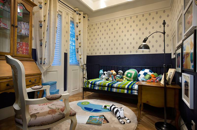 美式风格样板房儿童房装修效果图